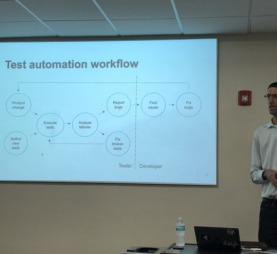 South Florida Test Automation Meetup Notes, January 2020